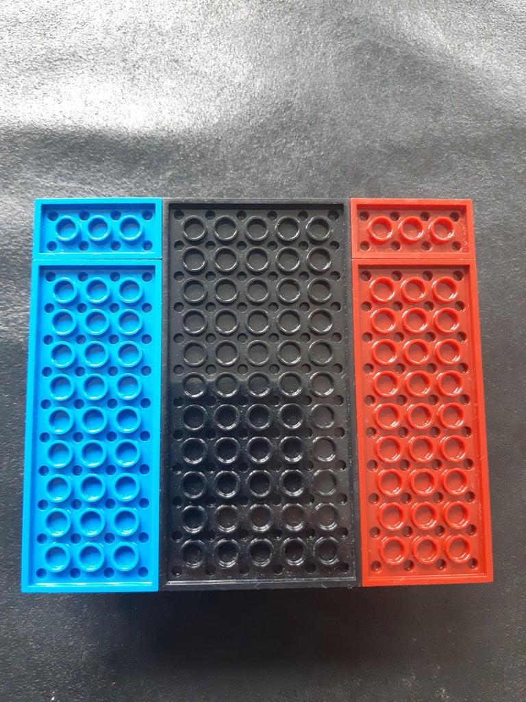 Build Lego Base Case From Lego Plates