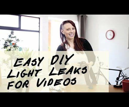 DIY Light Leaks Effect for Videos Using Nylon Tights!