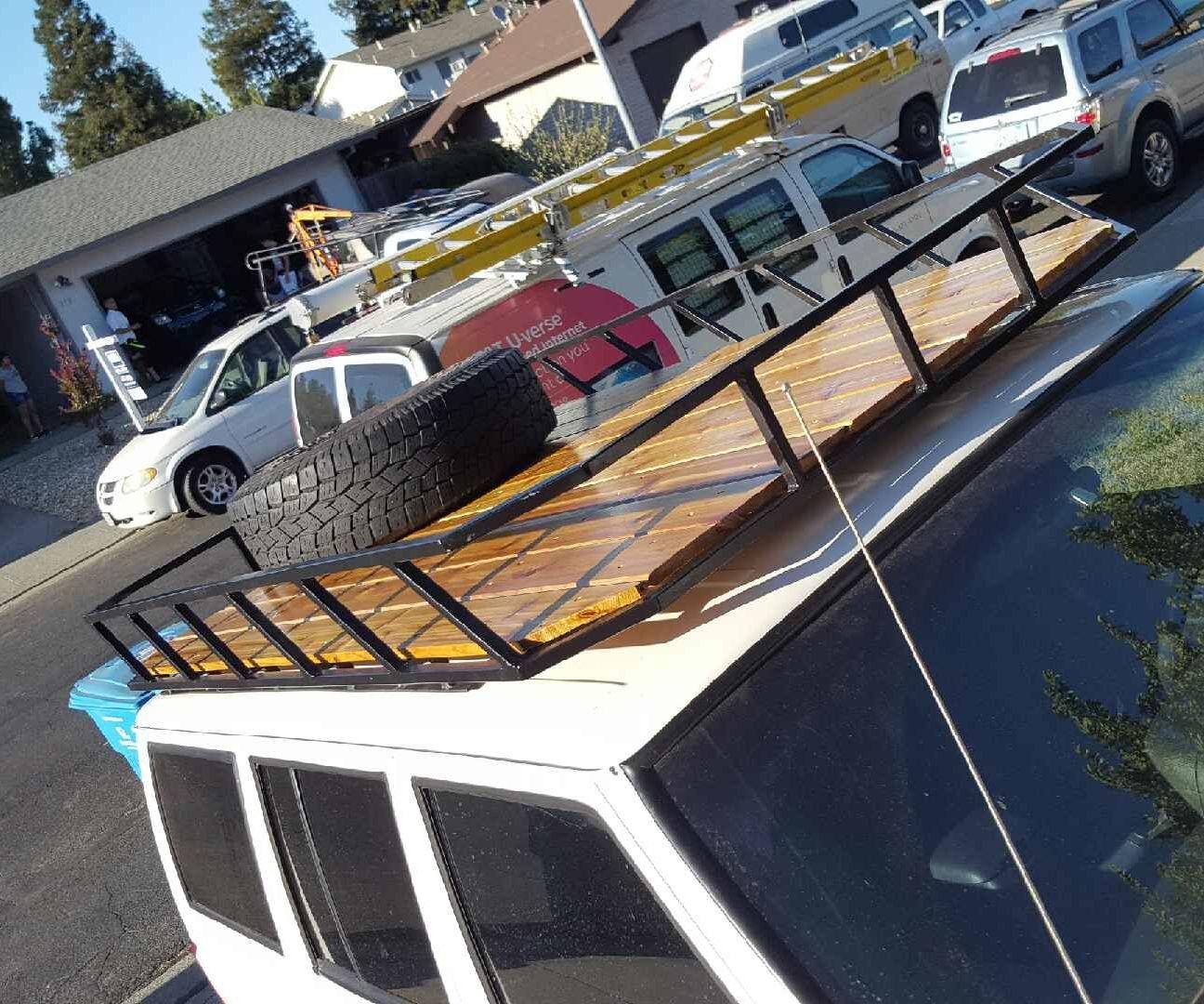 Roof Luggage Rack