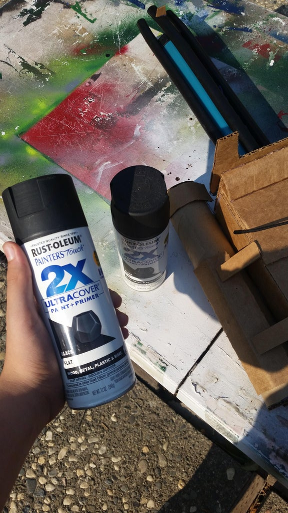Spray Painting and More Detail