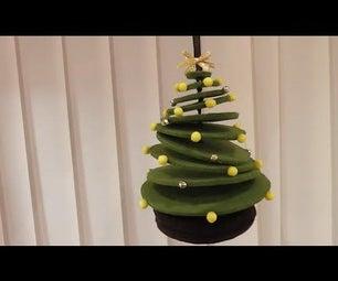 How to Make a 3D Felt Christmas Tree