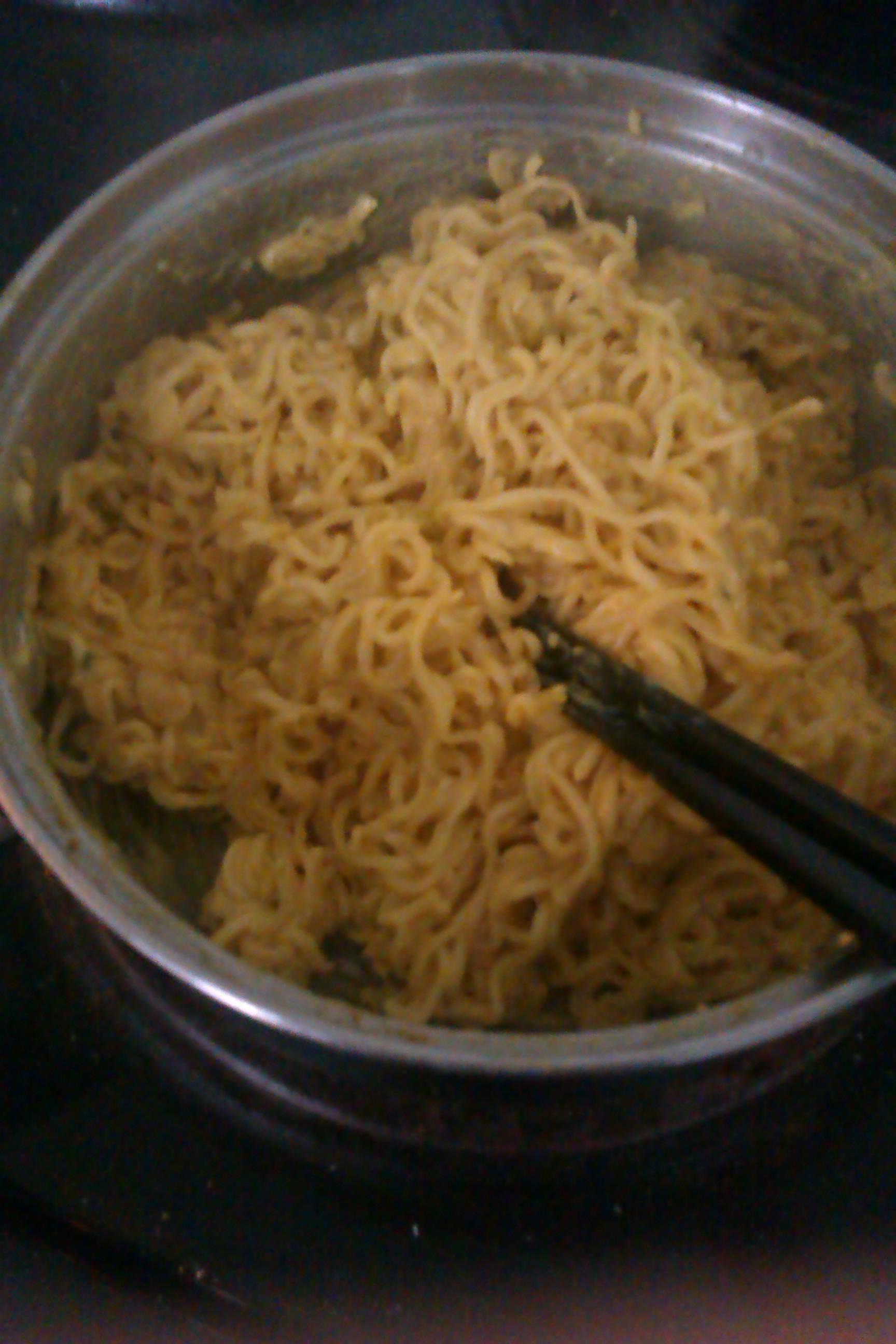 noodles in MILK?