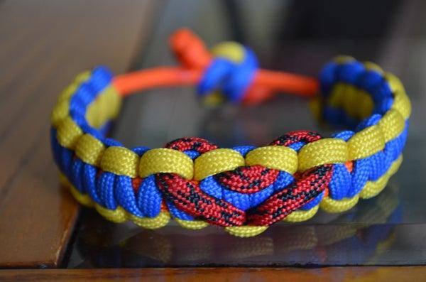 How-To Adjustable Paracord Bracelet