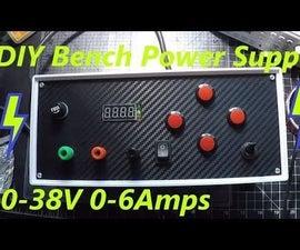 "DIY Variable Bench Adjustable Power Supply ""Minghe D3806"" 0-38V 0-6A"