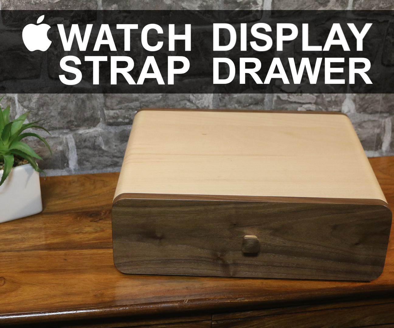 Apple Watch Strap Display Drawer