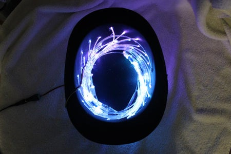 Install Fiber Optics, LEDs, and Controller