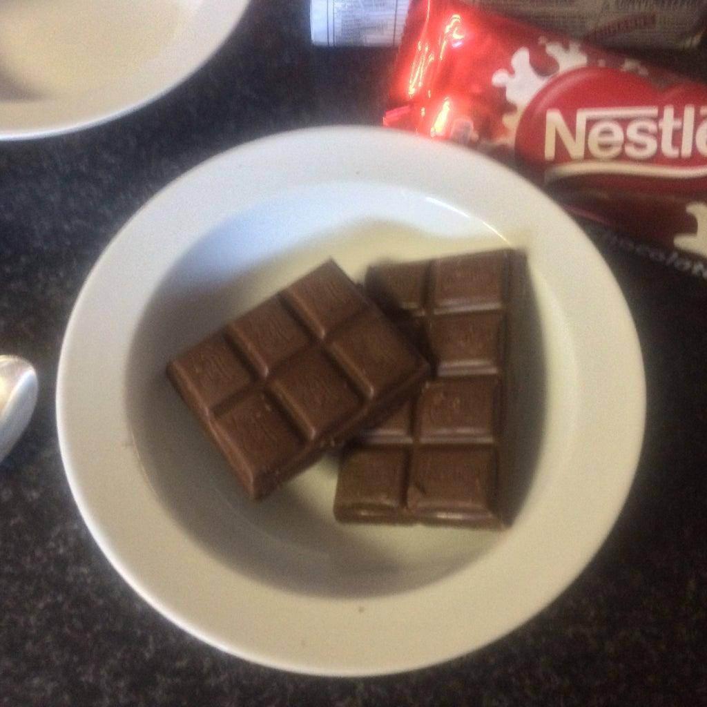 Melt the Chocolates