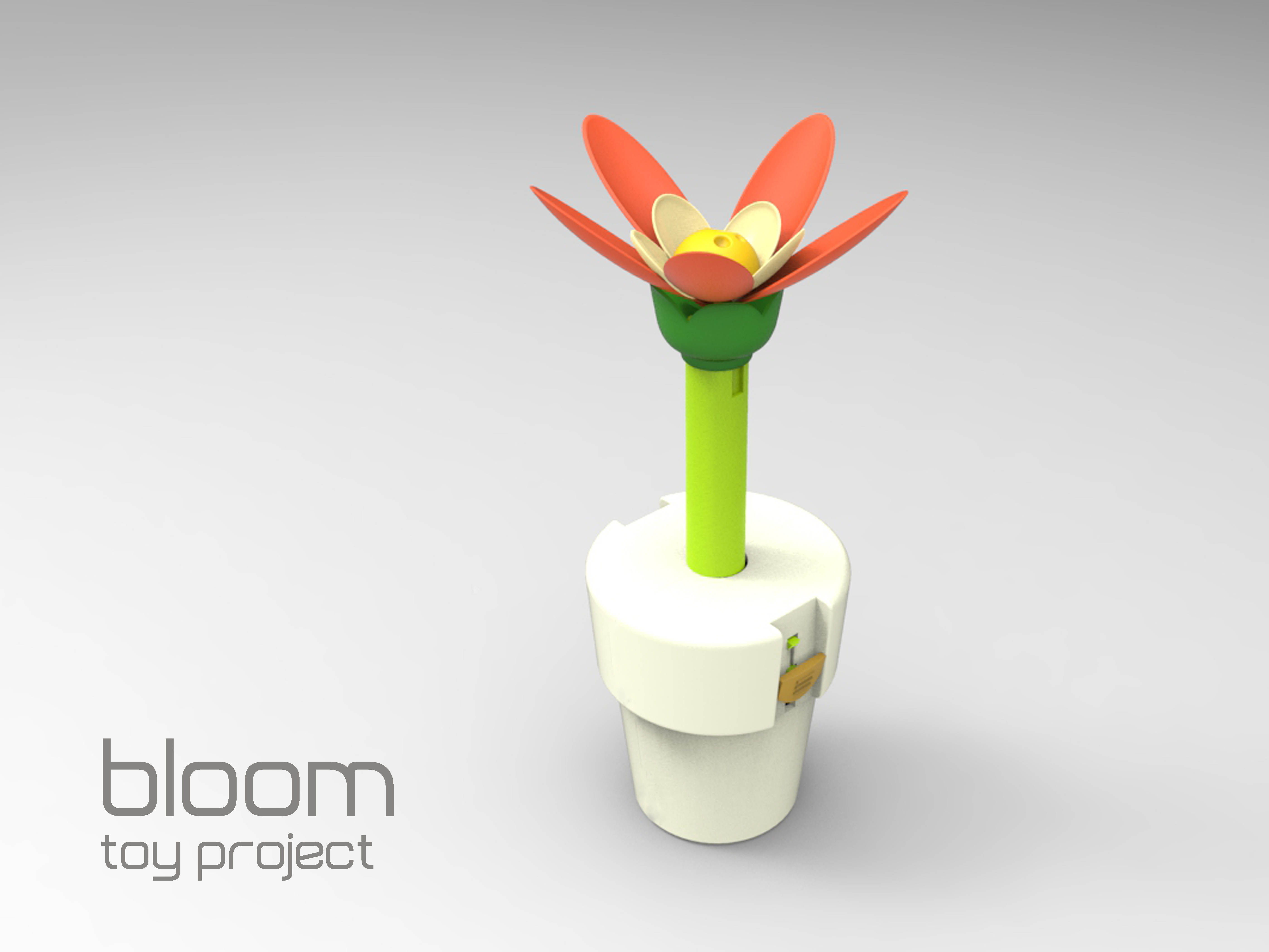 Blooming Flower Toy