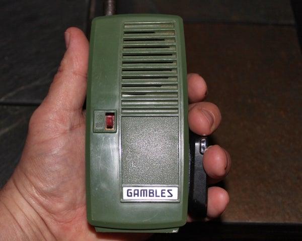 Bring a Vintage GI Joe Walkie-Talkie Back to Life With Bluetooth!