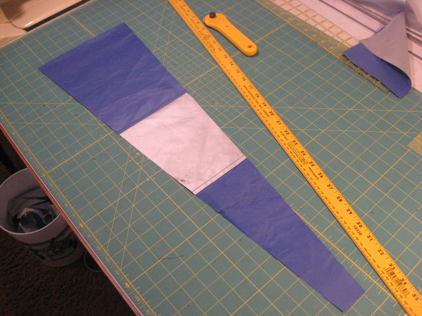 Cut the Fabric for Tail