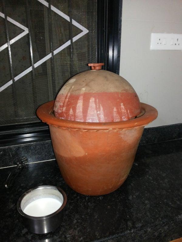 Homemade Clay Refrigerator - BEING ECOFRIENDLY !