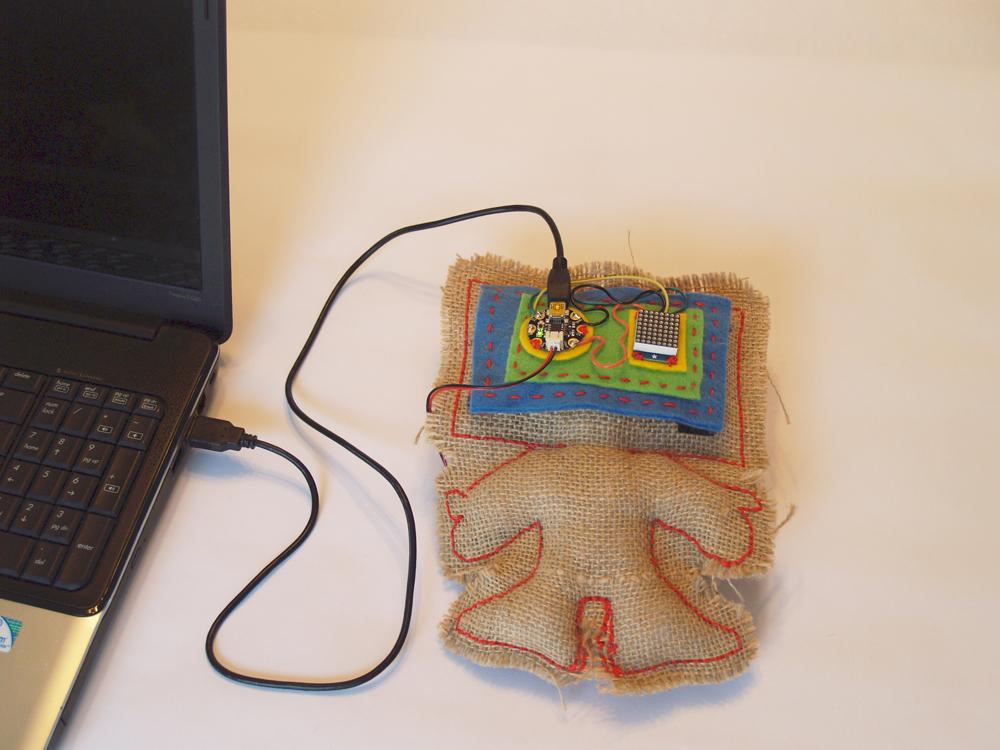 Robotic E-textile
