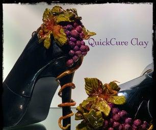 High Heel Applique W/ QuickCure Clay