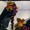 High Heel Applique W/ QuickCure Clay