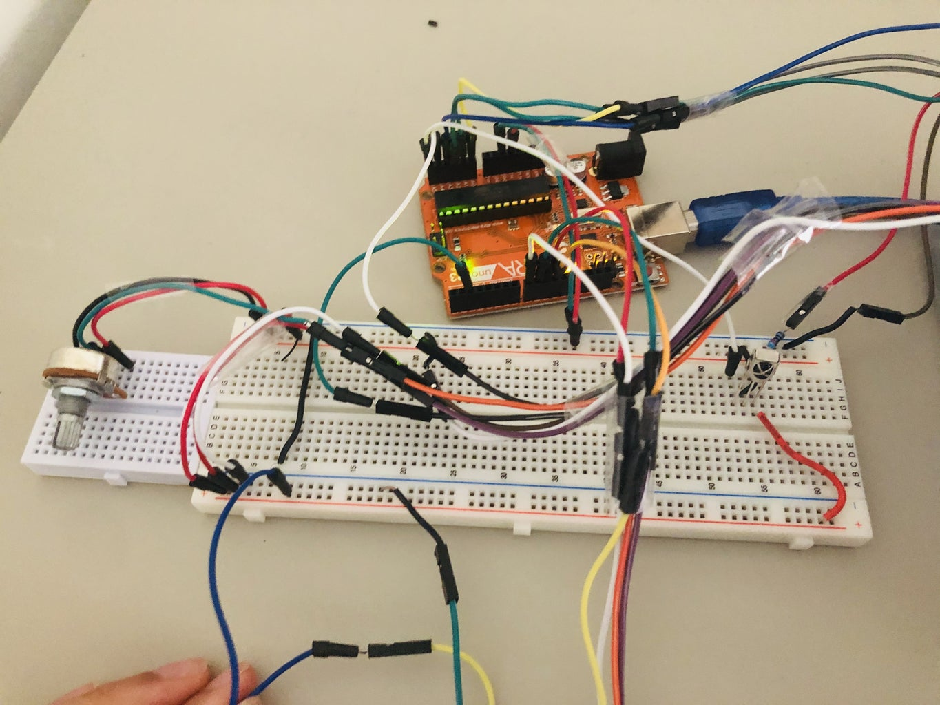 LCD Display Home Lock System