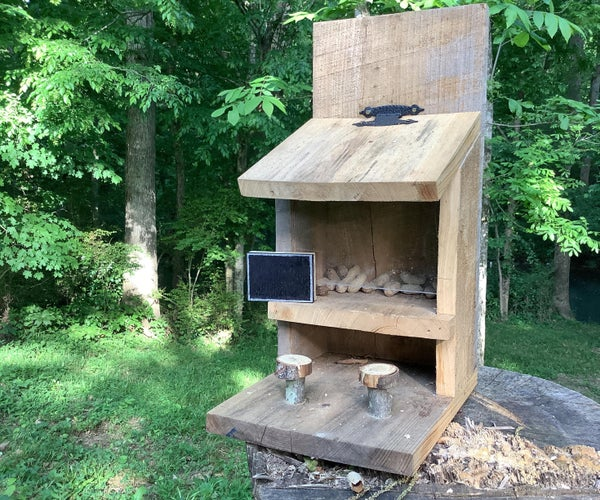 Tiny Tv for Squirrel Bar