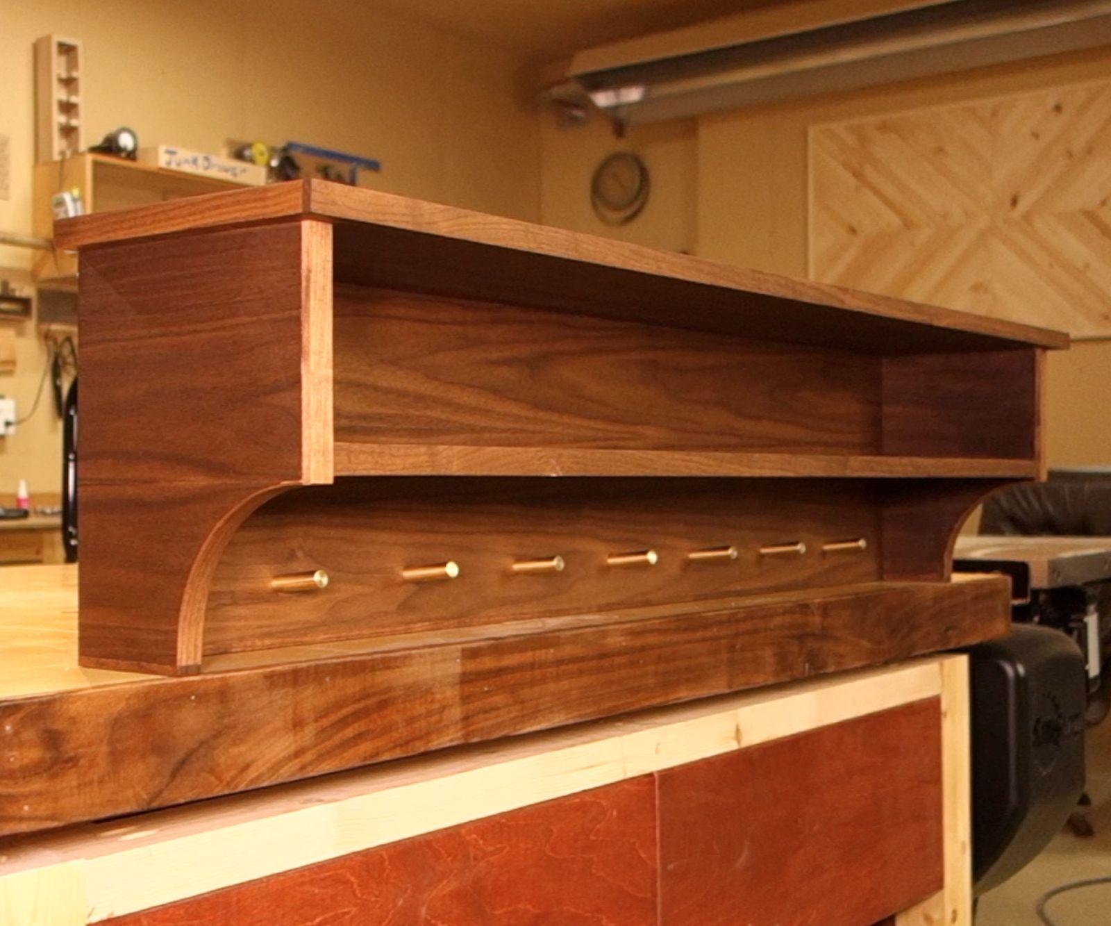 Coat Rack Shelf