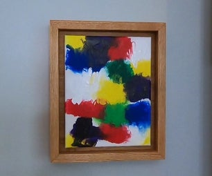 Mess Free Finger Painting for Kids