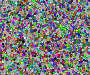 Painting Randomly Colored Ellipses in Processing