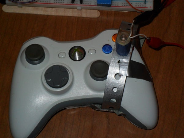 Solenoid Rapidly Presses XBox 360 Controller Button