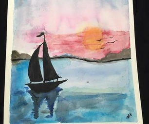 How to Make a Watercolor Painting!