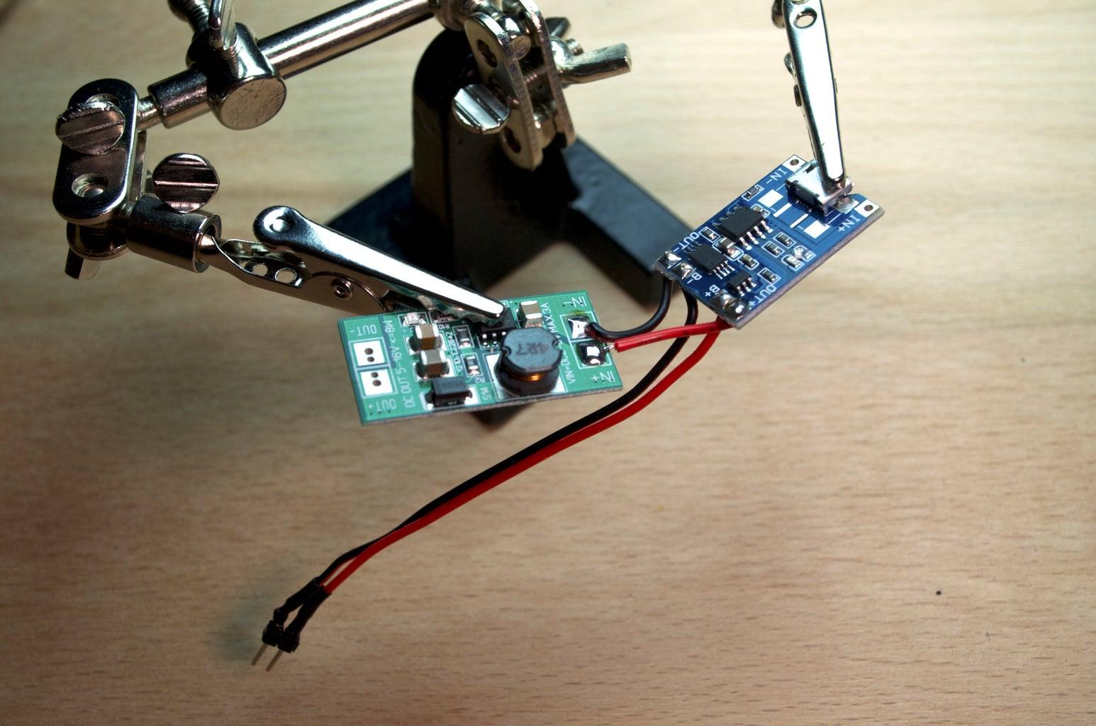 Soldering: the Power Module