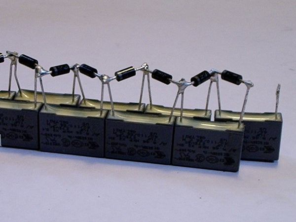 High Voltage Power Supply for Marx Generator