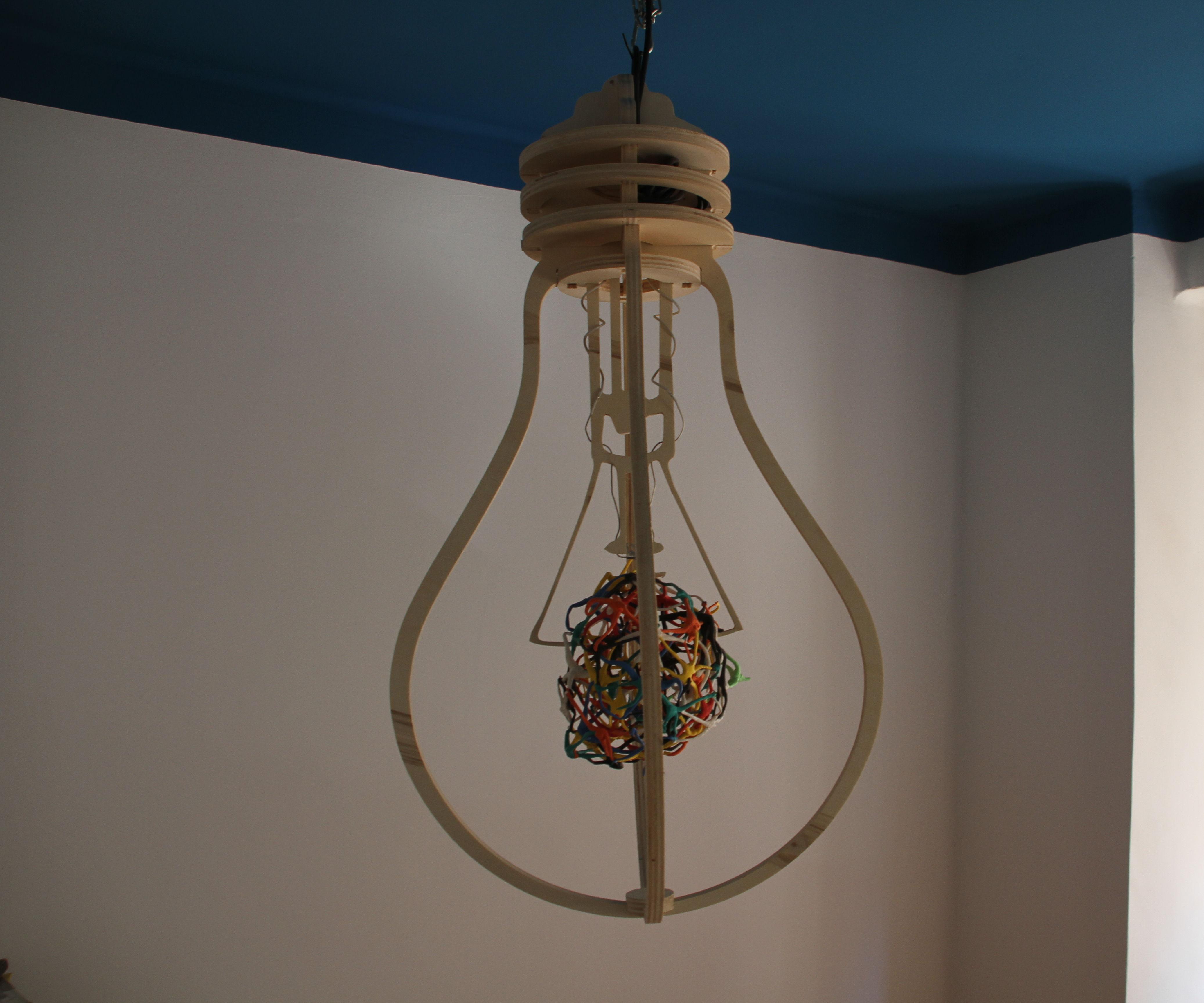 Wood bulb