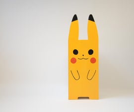 Pikachu Bedside Table - a Diy Furniture Project Inspired by Pokemon