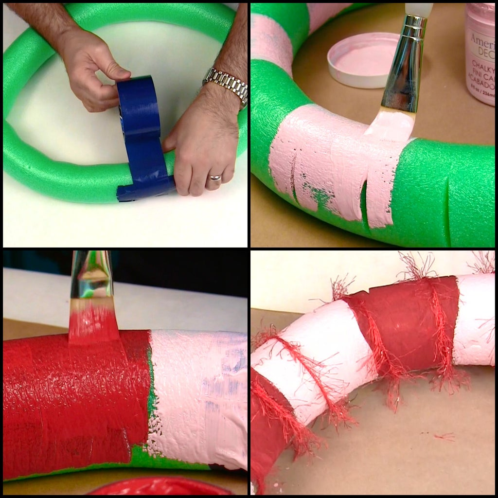 Make and Paint the Wreath