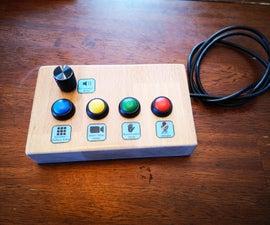 Zoom USB Button Machine