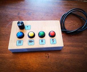 Zoom USB按钮机