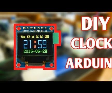 Arduino OLED Clock Project Using DS1307 IC