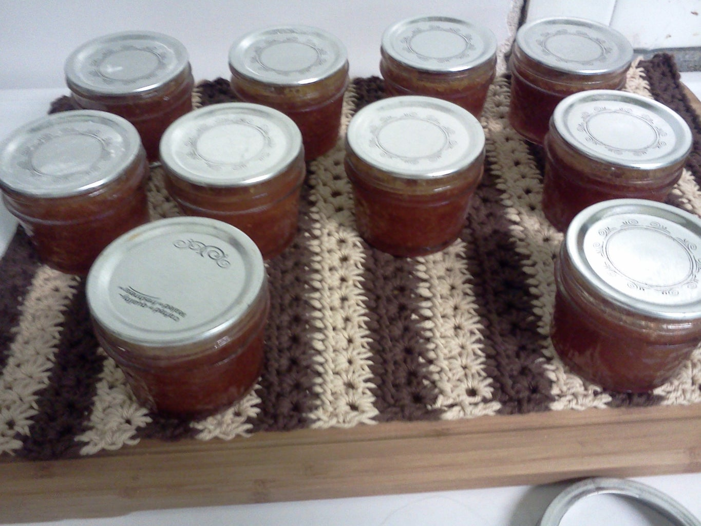 Allowing Jars to Cool & Checking the Seals