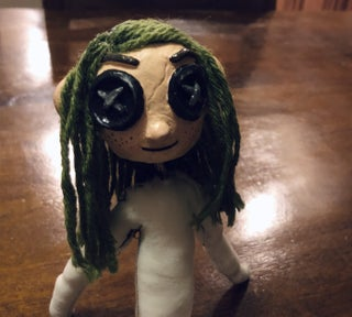 Coraline Mini Me Doll Diy 7 Steps With Pictures Instructables