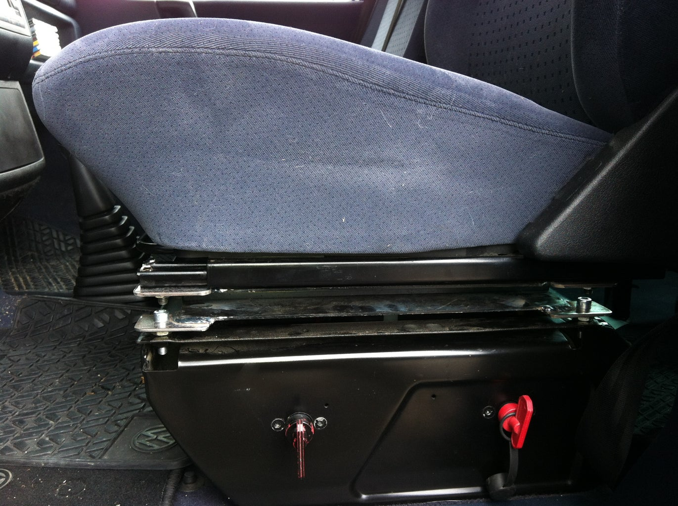Make the Swivel Driver Seat
