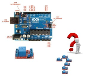 CONNECT  16384  RELAYS TO a SINGLE ARDUINO and Infinite Other Possibilities