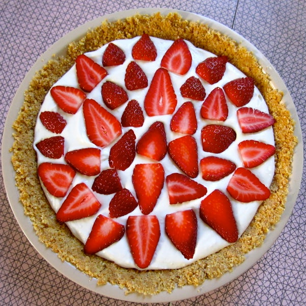 Cheesecake Pie With Fruit