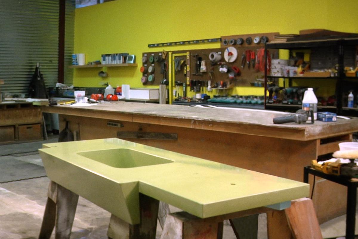 Sealing Concrete Countertops + More