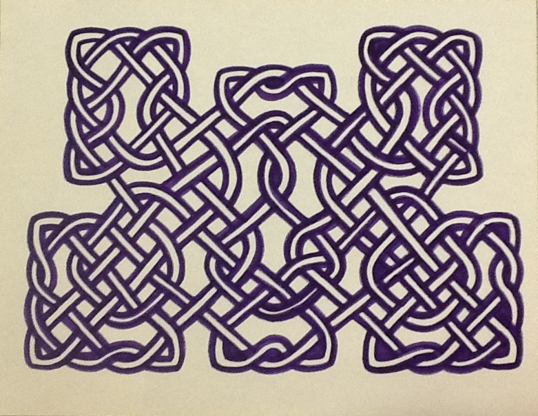 How to Draw Celtic Knot Work