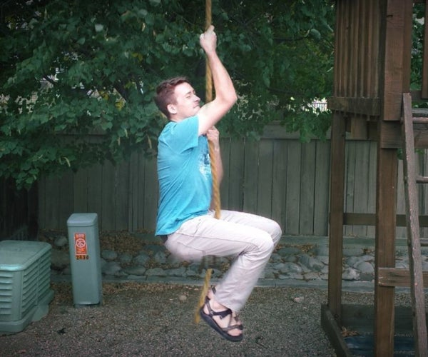Rope Swing From Grass (No Tools)