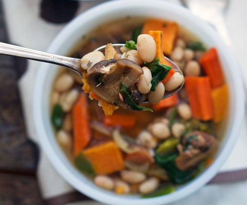 Rustic Roasted Vegetable Soup