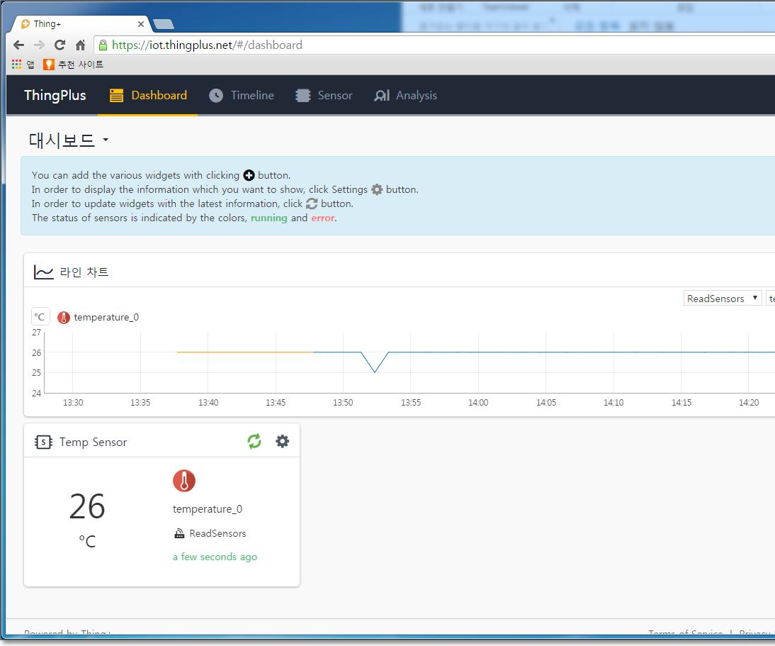 Do you know how to send Arduino sensor data to Cloud Server(Thing+ Server)