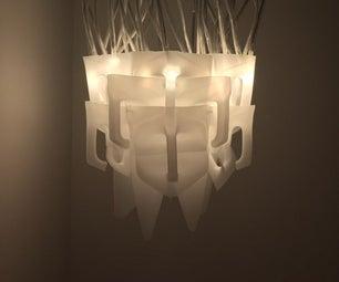 HDPE Upcycling Lamp