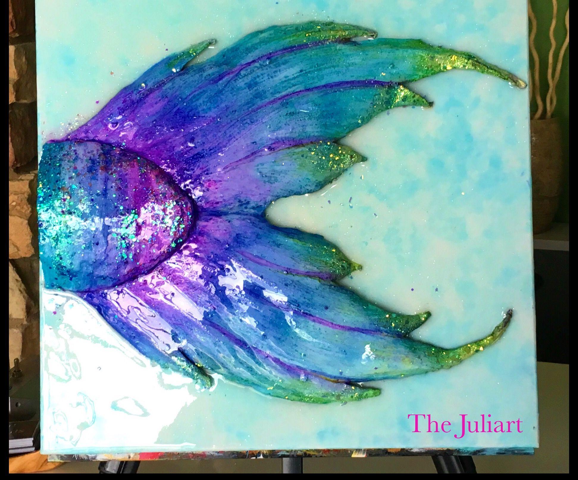Resin Mermaid Tail