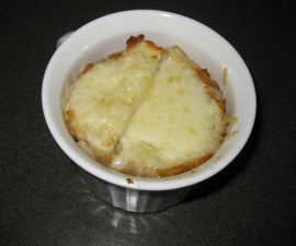 Peasant Style French Onion Soup