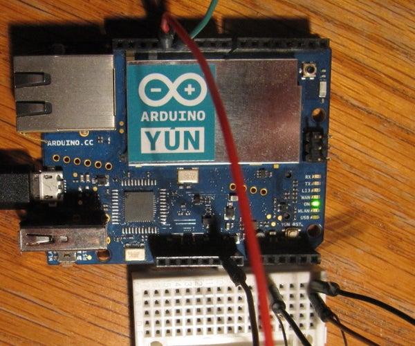 Having Python Talk to the Arduino Yun