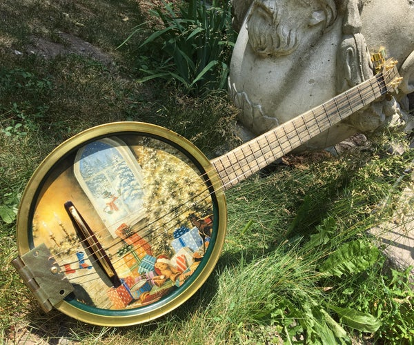 How to Build a Cookie-Tin Guitar