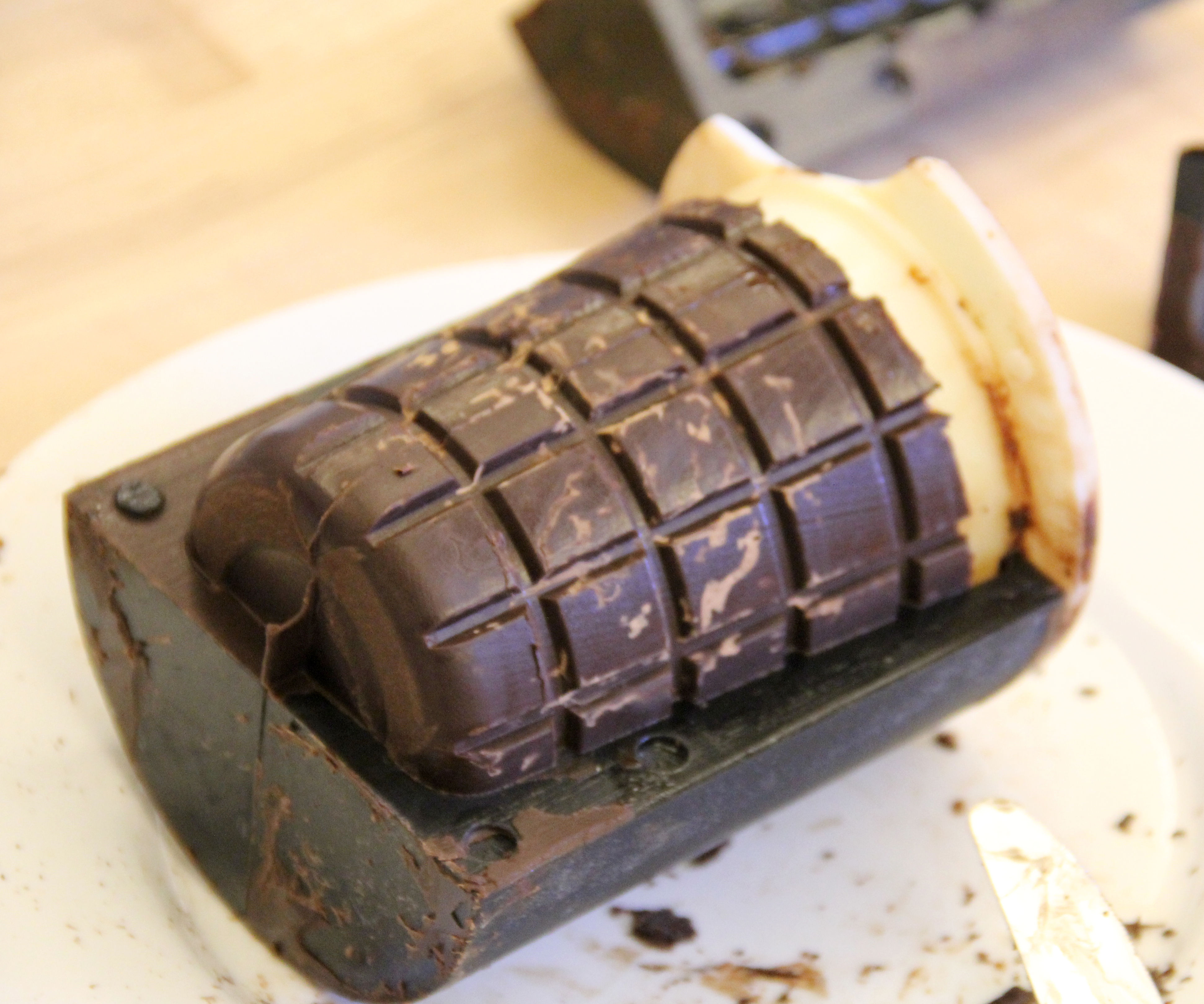 Chocolate Cup - Literally!-