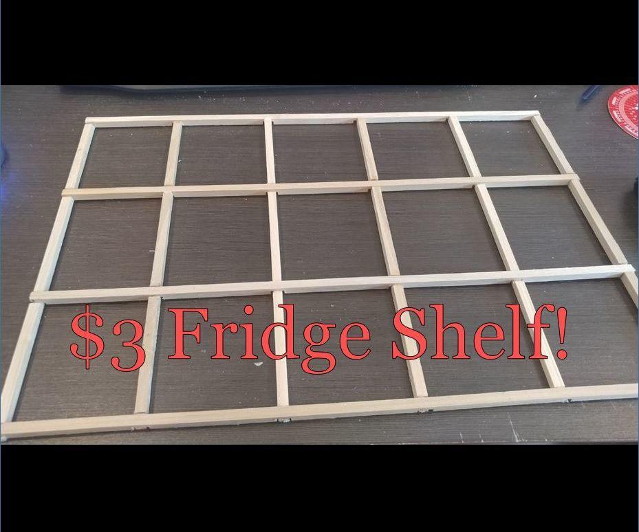 $3 Fridge Shelf